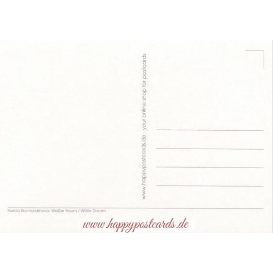 White Dream - Postcard