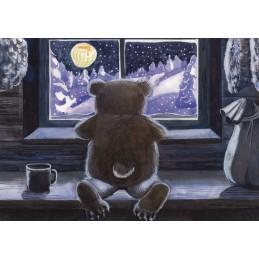 Weißer Traum - Postkarte