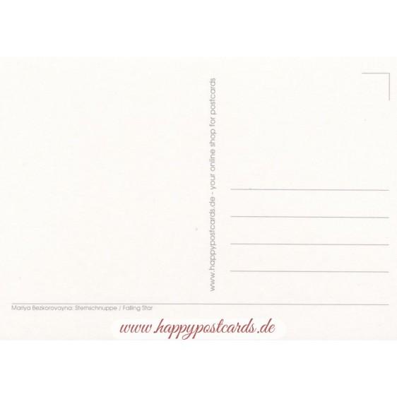 Sternschnuppe - Postkarte