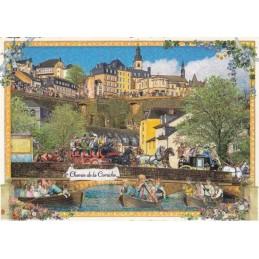Luxemburg - Chemin de la Corniche - Tausendschön Postcard
