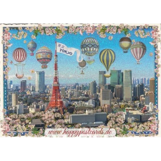 Tokyo - Tausendschön Postcard