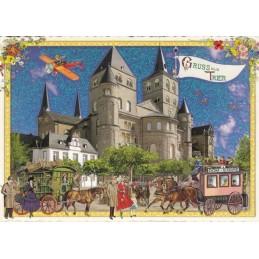 Trier - Dom - Tausendschön - Postkarte