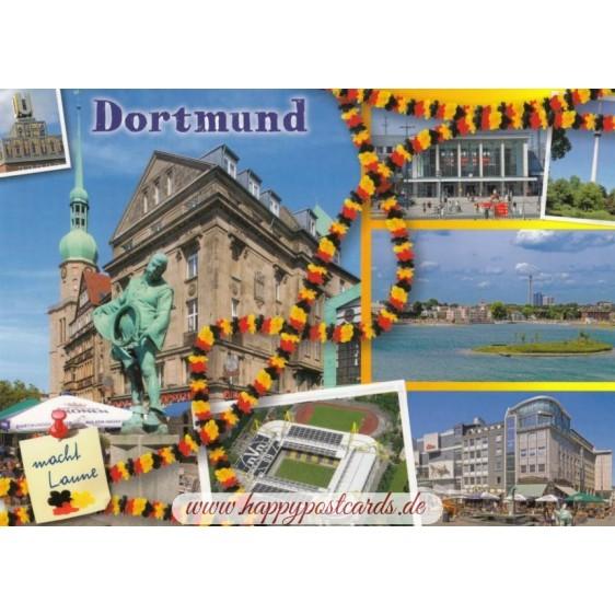 Dortmund macht Laune - Ansichtskarte