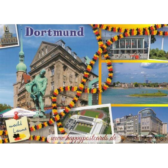 Dortmund macht Laune - Viewcard