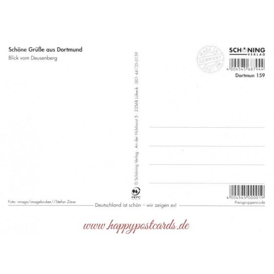 Westfalenmetropole Dortmund - Viewcard