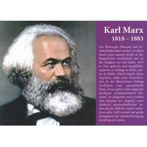 Karl Marx - Chronikkarte