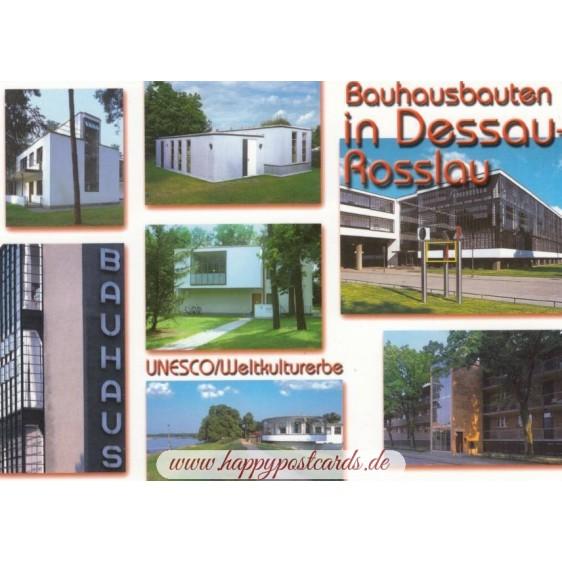 Bauhausbauten in Dessau-Roßlau - Viewcard