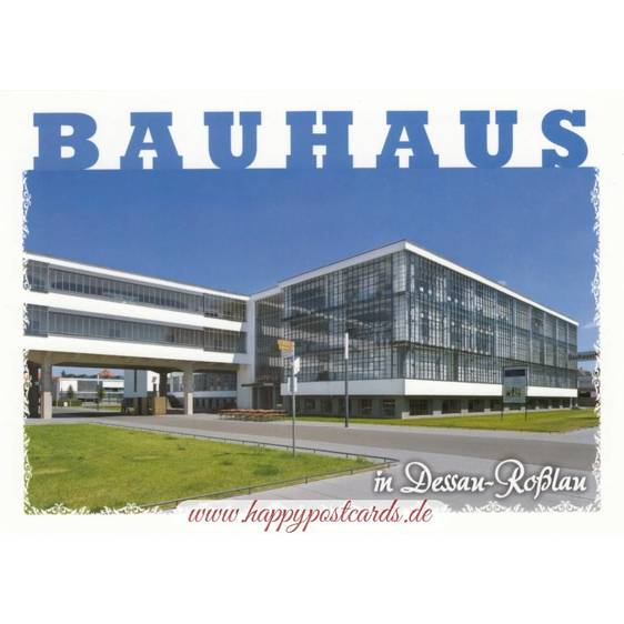 Bauhaus in Dessau-Roßlau - Viewcard