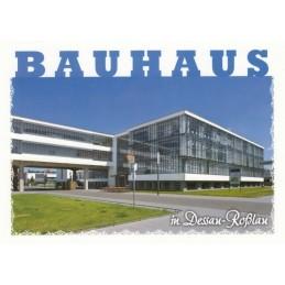 Bauhaus in Dessau-Roßlau - Ansichtskarte