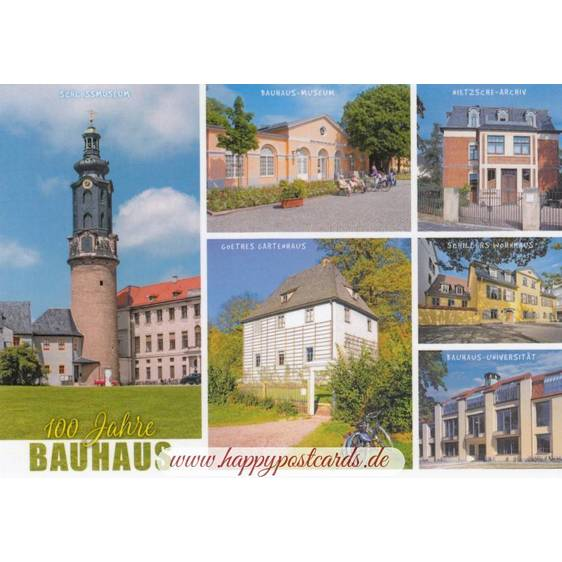 Weimar - Bauhaus - Ansichtskarte
