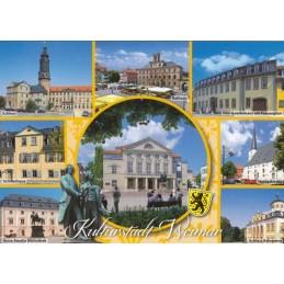 Kulturstadt Weimar - Viewcard