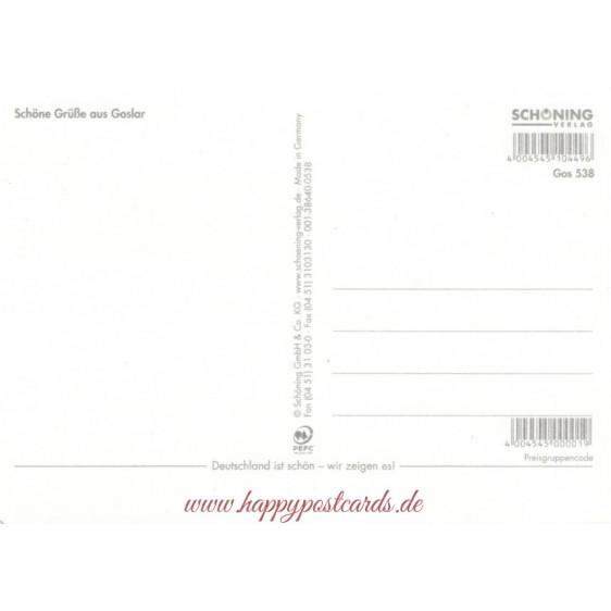 Goslar- Kaiserpfalz - Viewcard