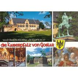 Kaiserpfalz von Goslar - Ansichtskarte