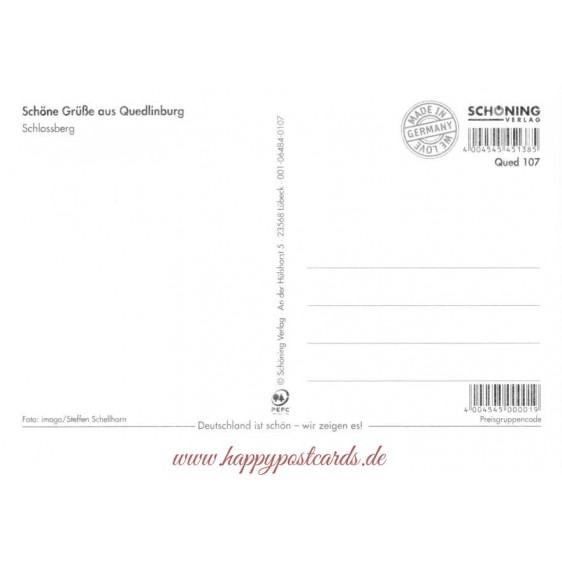 Quedlinburg - Stampborder - Viewcard