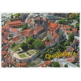 Quedlinburg - Briefmarkenrand - Ansichtskarte