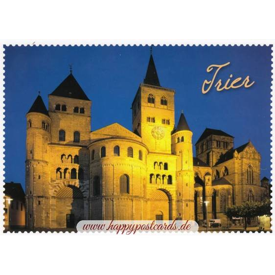 Trier Dom Stampborder - Viewcard