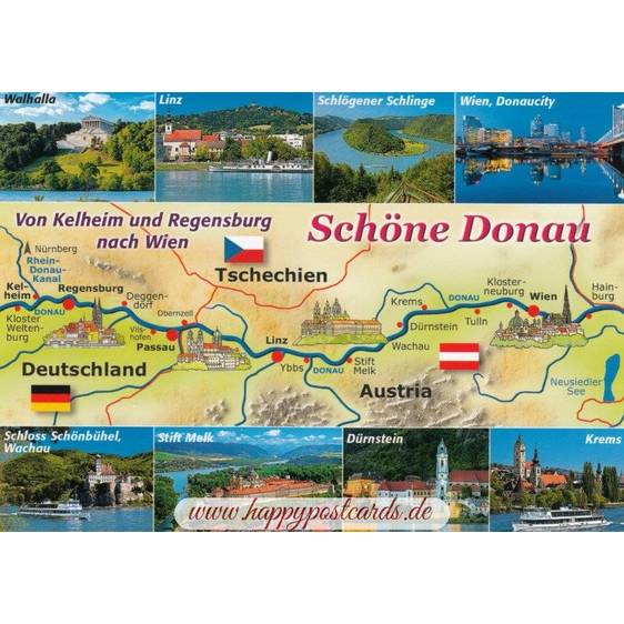 Danube - Map