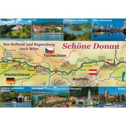 Schöne Donau - Map - Ansichtskarte