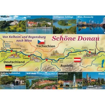 Schöne Donau - Map