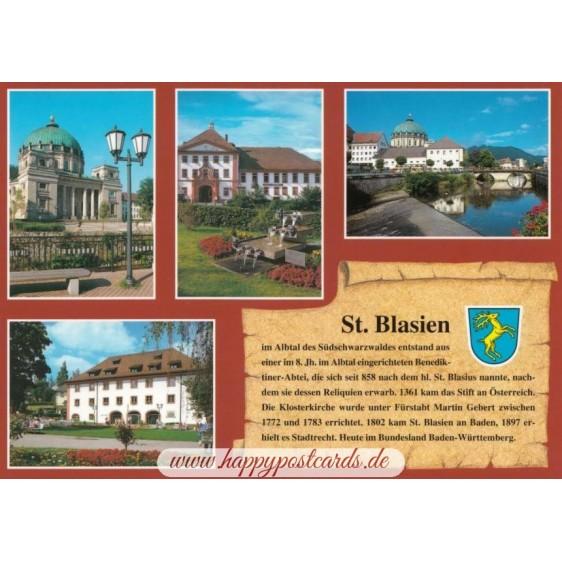 St. Blasien - Chronicle - Viewcard