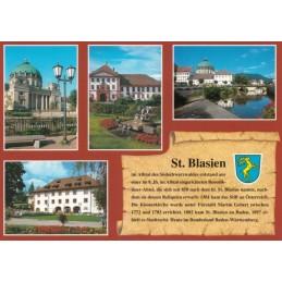 St. Blasien - Chronik - Ansichtskarte
