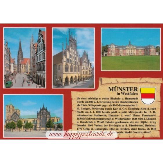 Münster - Chronik - Ansichtskarte