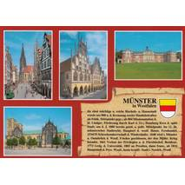 Münster - Chronicle - Viewcard