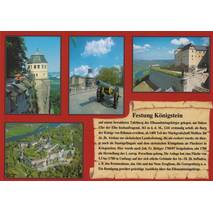 Festung Königstein - Chronicle - Viewcard
