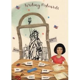 Sprachen der Welt - Englisch - New York - Postkarte