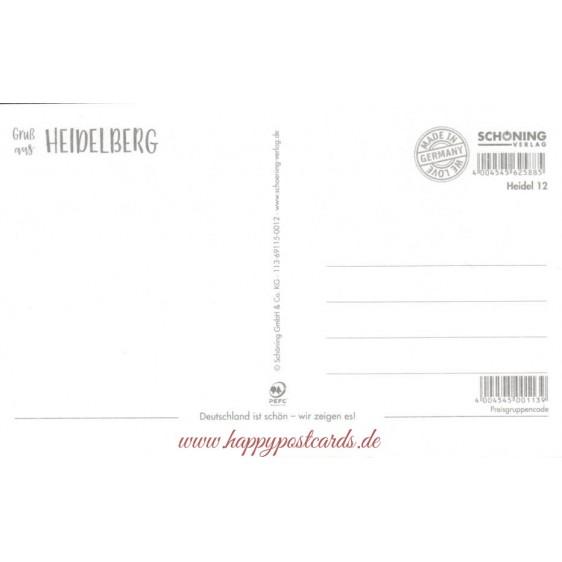 Gruß aus Heidelberg - HotSpot-Card