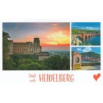 Greetings from Heidelberg - HotSpot-Card