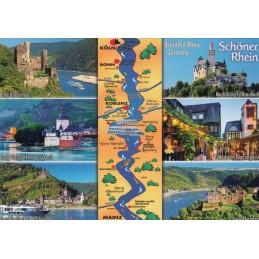 Schöner Rhein - Map - Ansichtskarte