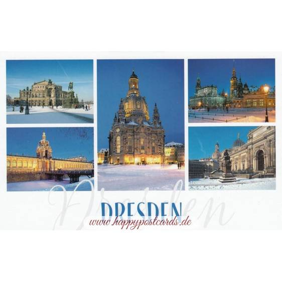 Winterliches Dresden - HotSpot-Card