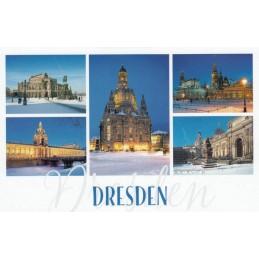 Snowy Dresden - HotSpot-Card
