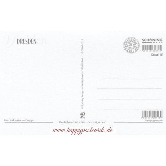 Dresden - Elbpanorama- HotSpot-Card