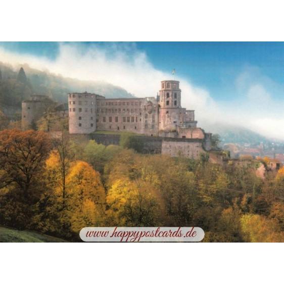 Heidelberg Castle 2 - Viewcard
