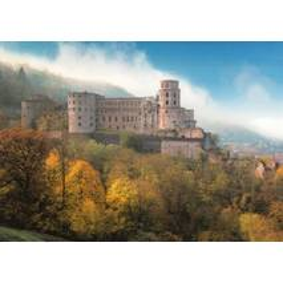Heidelberg Schloss 2 - Ansichtskarte