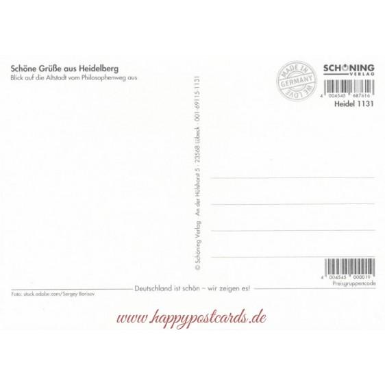 Heidelberg Castle 3 - Viewcard
