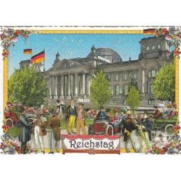 Berlin - Reichstag - Tausendschön - Postcard