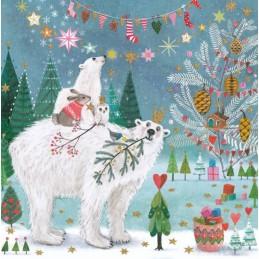 Eisbären - Mila Marquis Postkarte