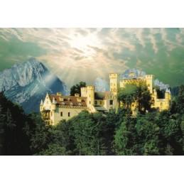 Königsschloss Hohenschwangau - Ansichtskarte