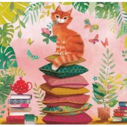 Katze - Mila Marquis Postkarte