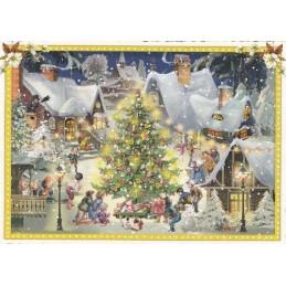 Weihnachten in der Stadt - Tausendschön - Weihnachtskarte