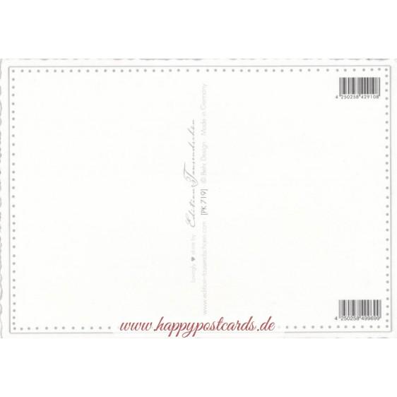 Gruss von der Küste - Tausendschön - Postkarte