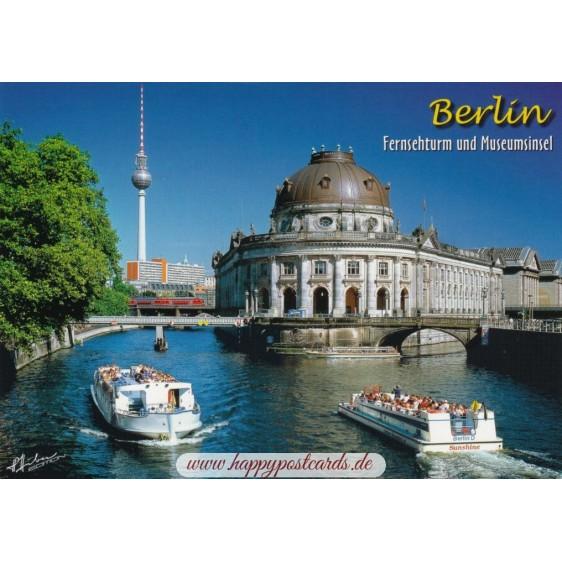 Berlin - Fernsehturm und Museumsinsel