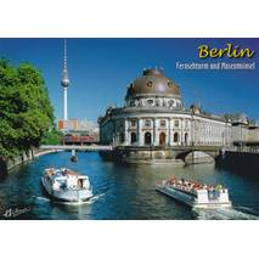 Berlin - Fernsehturm und Museumsinsel - Ansichtskarte