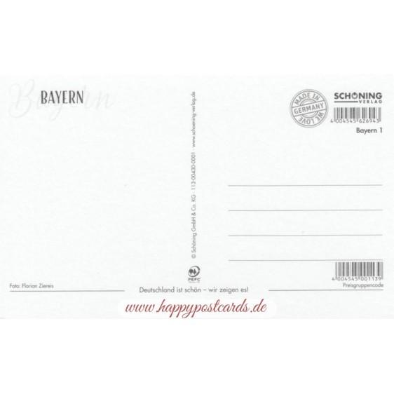 Bavaria - Lake - HotSpot-Card