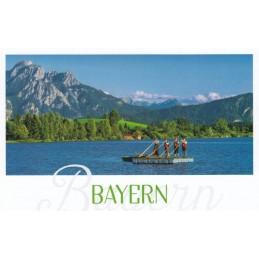 Bavaria - Alphorn - HotSpot-Card