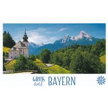 Bavaria - Church - HotSpot-Card
