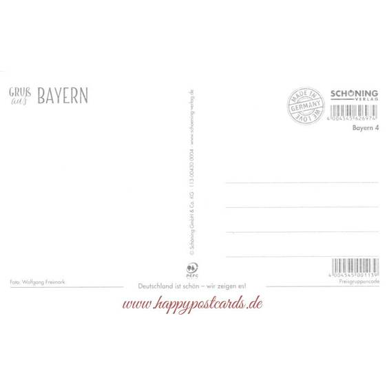 Bayern - Kirche - HotSpot-Card